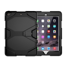 Kryt / obal pro Apple iPad 9,7 (2017-2018) - outdoor - odolný - plastový / silikonový - černý