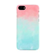 Kryt pro Apple iPhone 7 / 8 / SE (2020) - plastový - růžový / modrý