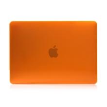 """Obal / kryt pro MacBook Air / Air M1 (2018-2021) 13"""" (A1932, A2179, A2337) - plastový - oranžový"""