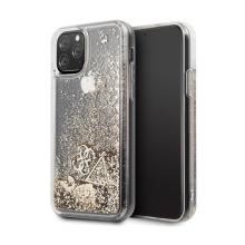 Kryt GUESS pro Apple iPhone 11 Pro Max - plastový - zlaté třpytky