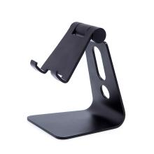 Stojánek pro Apple iPhone / iPad - naklápěcí - hliníkový - černý