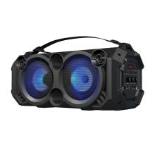 Bluetooth reproduktor / soundbox REBELTEC - 40W RMS - LED podsvícení - TWS bezdrátový - černý