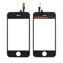 Dotykové sklo (touch screen digitizér) pro Apple iPhone 3GS - černé - kvalita A+