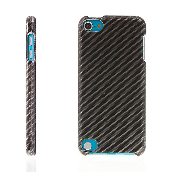 Plastový kryt pro Apple iPod touch 5.gen. - lesklý - vzor karbon