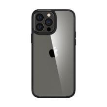 Kryt SPIGEN Crystal Hybrid pro Apple iPhone 13 Pro Max - matný - černý