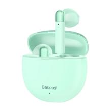 Bezdrátová Bluetooth sluchátka BASEUS Encok W2 - modrá