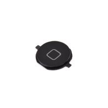 Tlačítko Home Button pro Apple iPhone 4S - černé - kvalita A+