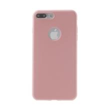 Kryt pro Apple iPhone 7 Plus / 8 Plus - ultratenký - gumový - růžový
