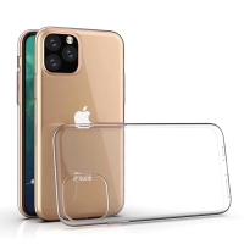 Kryt pro Apple iPhone 11 - gumový - průhledný