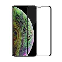 Tvrzené sklo (Tempered Glass) NILLKIN 3D CP+MAX pro Apple iPhone Xr / 11 - černý rámeček - čiré - 0,3mm