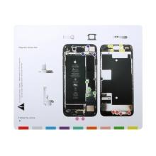 Magnetická podložka pro šroubky / díly Apple iPhone 8 (rozměr 25x20cm)