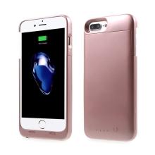 Externí baterie / kryt MAXNON M7 MFi certifikovaná pro Apple iPhone 6 / 6S / 7 - 3200 mAh - růžově zlatá (Rose Gold)