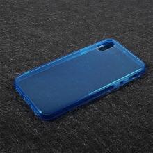 Kryt pro Apple iPhone X - gumový - modrý