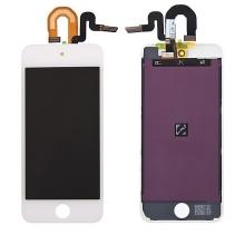 LCD panel + dotykové sklo (touch screen digitizér) pro Apple iPod touch 5 / 6.gen. - bílý