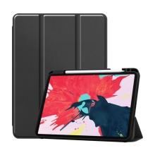 """Pouzdro pro Apple iPad Pro 11"""" (2018) / 11"""" (2020) - stojánek + prostor pro Apple Pencil - černé"""
