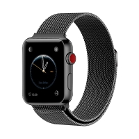 Řemínek pro Apple Watch 40mm Series 4 / 38mm 1 2 3 - nerezový