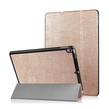 Pouzdro / kryt pro Apple iPad Pro 10,5 - funkce chytrého uspání + stojánek - zlaté