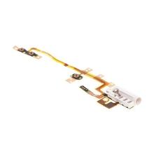 Flex pro Apple iPod nano 6.gen. - audio jack, mikrospínač POWER, ovládání hlasitosti VOLUME - bílý - kvalita A+