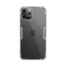 Kryt NILLKIN Nature pro Apple iPhone 12 Pro Max - gumový - průhledný