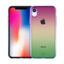 Kryt MOMAX pro Apple iPhone Xr - plastový - duhový