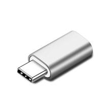 """Přepojka / redukce USB-C samec na Lightning samice pro Apple iPad Pro 11"""" / 12,9"""" - stříbrná"""