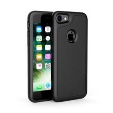 Kryt pro bezdrátové nabíjení pro Apple iPhone 7 - plast / guma - černý