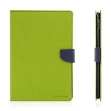 Pouzdro MERCURY Fancy Diary pro Apple iPad Pro 9,7 - stojánek a prostor na doklady - zelené / modré