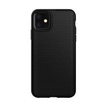 Kryt SPIGEN Liquid Air pro Apple iPhone 11 - trojúhelníkový vzor - gumový - černý