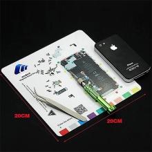 Magnetická podložka pro šroubky Apple iPhone 5 (rozměr 20x20cm)