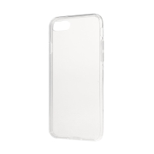 Kryt pro Apple iPhone 7 / 8 - antiprachové záslepky - gumový - průhledný