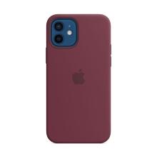 Originální kryt pro Apple iPhone 12 / 12 Pro - silikonový - švestkově fialový