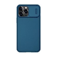 Kryt NILLKIN pro Apple iPhone 13 Pro Max - posuvná krytka fotoaparátu - plastový - modrý