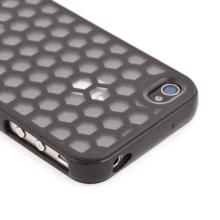 Ochranný kryt / pouzdro pro Apple iPhone 4 / 4S plástev - černý