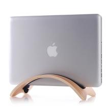 Stojan / držák SAMDI pro Apple MacBook Air / Pro - svislý - dřevěný - světle hnědý