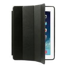 Pouzdro / kryt pro Apple iPad 2 / 3 / 4 - funkce chytrého uspání + stojánek
