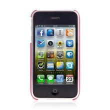 Zadní ochranný kryt pro Apple iPhone 3G / 3GS - červený
