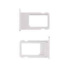 Rámeček / šuplík na Nano SIM pro Apple iPhone 6S - stříbrný (silver) - kvalita A+