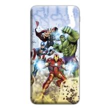 Externí baterie / power bank MARVEL - Avengers - 10000 mAh - 2x USB - bílá