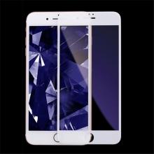 Tvrzené sklo (Tempered Glass) KINGXBAR pro Apple iPhone 7 Plus / 8 Plus - anti-blue-ray - 2,5D - bílé - 0,33mm
