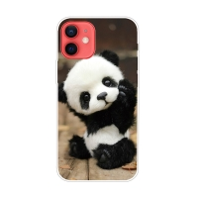 Kryt pro iPhone 12 / 12 Pro - gumový - malá panda