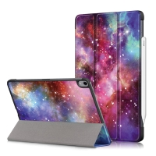 Pouzdro / kryt pro Apple iPad Air 4 (2020) - funkce chytrého uspání - umělá kůže - hvězdné nebe