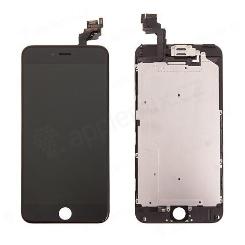 LCD panel + dotykové sklo (touch screen digitizér) pro Apple iPhone 6 Plus - osazený černý