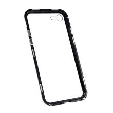 Kryt pro Apple iPhone 7 / 8 / SE (2020) - magnetické uchycení - sklo / kov - 360° ochrana