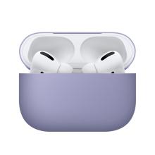 Pouzdro / obal BENKS pro Apple AirPods Pro - silikonové - fialové