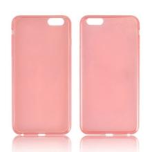 Ultra tenký gumový kryt pro Apple iPhone 6 Plus / 6S Plus (tl. 0,45mm) - hladký - červený