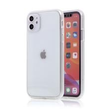 Kryt FORCELL pro Apple iPhone 11 Pro - 360° ochrana - plastový / gumový - průhledný
