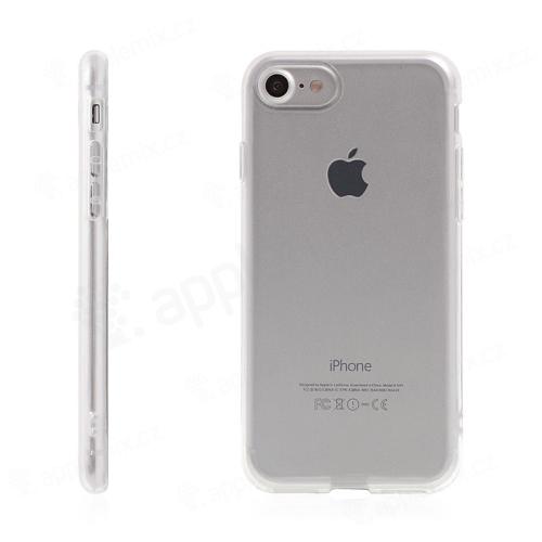 Kryt pro Apple iPhone 7 / 8 / SE (2020) gumový - průhledný