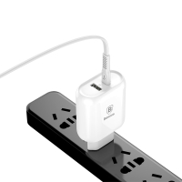 "Nabíječka / adaptér pro Apple iPhone / iPad / Macbook 12"" - 32W USB-A + USB-C + kabel Lightning"