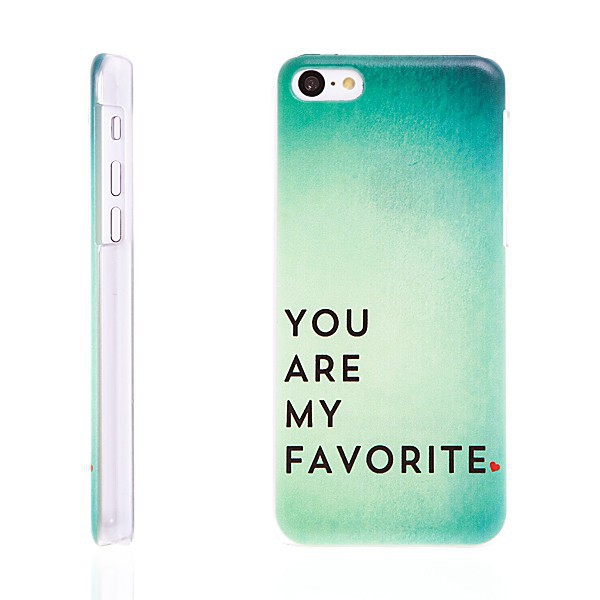 Plastový kryt pro Apple iPhone 5C - You Are My Favorite
