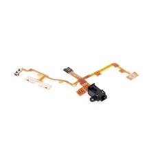 Headphone Audio Jack Ribbin Flex kabel pro iPhone 3G / 3GS - černý - kvalita A+